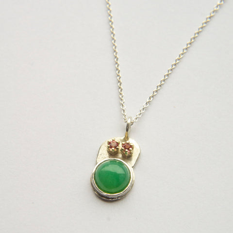 Chrysopraas Pendant Friend