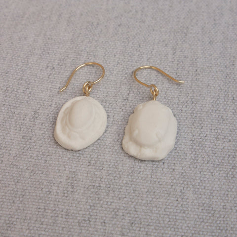 Ear Pendants Porcelain #3