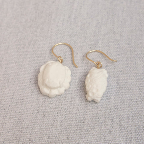 Ear Pendants Porcelain #1