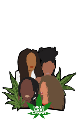 GIRLS WHO CANNA LOGO SCREEN SAVER
