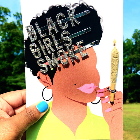 BLACK GIRLS 💨 LIMITED STOCK HAIR PINS + CANNA CARD KIT