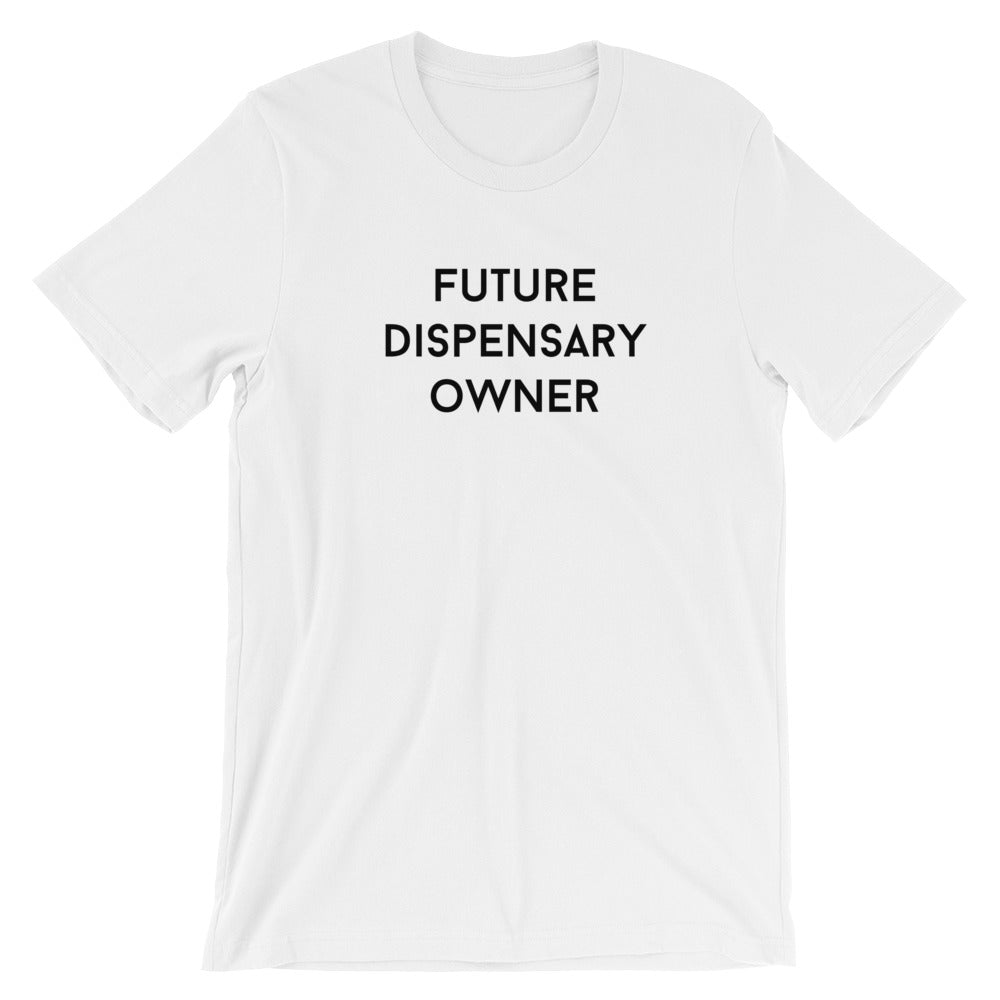 FUTURE DISPENSARY OWNER Unisex Short Sleeve Jersey T-Shirt