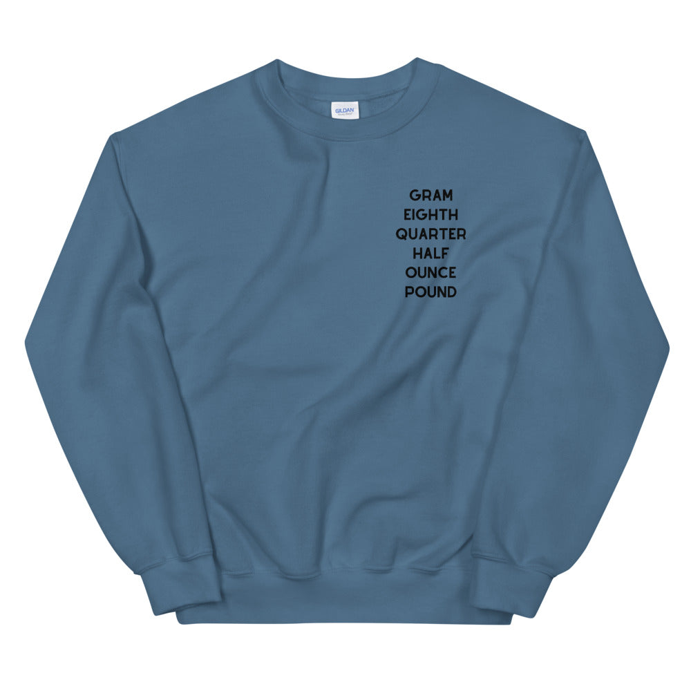 WEIGHT Unisex Sweatshirt