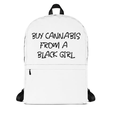 Buy Cannabis From a Black Girl Backpack