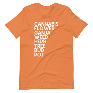 CANNABIS PERIODT Short-Sleeve Unisex T-Shirt