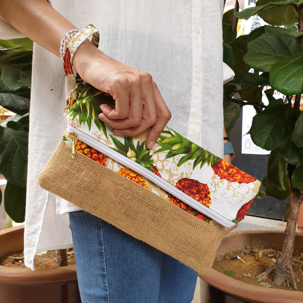 Nazanin Clutch - Pineapple