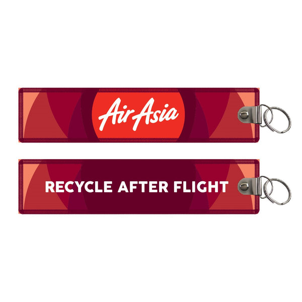 "AirAsia Foundation Edition ""Recycle After Flight"" Keyring"