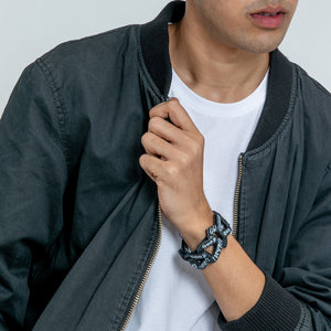GOOD/jahat/ Leather Bracelet - Chain