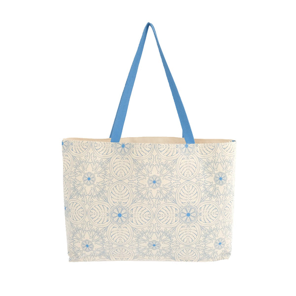 Bingka Carry All Shopping Bag - Tropical Leaf