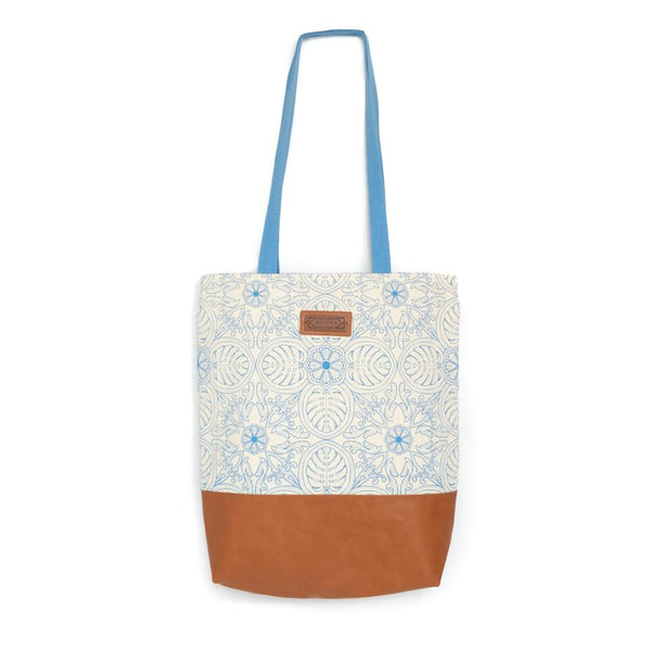 Bingka Basic Tote - Tropical Leaf