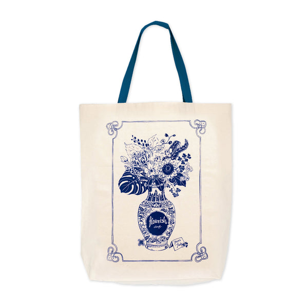 Bingka Shopping Bag - Flourish