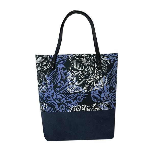 Batik Boutique Tote Bag - Nautical Blue