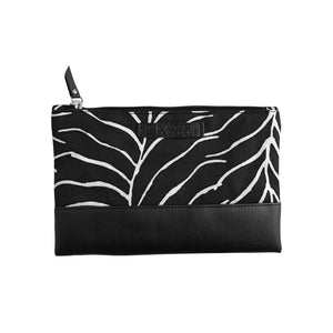 Batik Boutique Zip Pouch - Black Fern