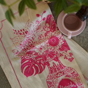 Bingka Tea Towel - Flourish
