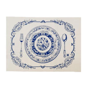 Bingka Tea Towel - Chinoise Table Setting