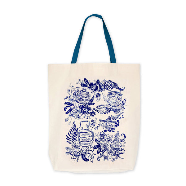 Bingka Shopping Bag - Porcelain