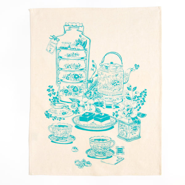 Bingka Tea Towel - Teatime