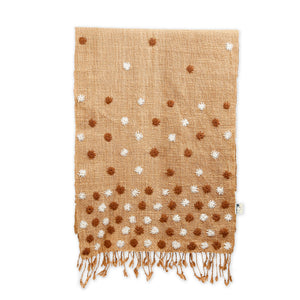 Bhukram Shawl - Natural Brown