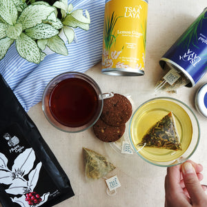 Tsaa Laya Tea Canister - Lemon Ginger