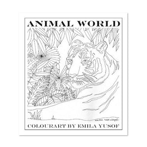 (E. Yusof) Colourart Book - Animal World