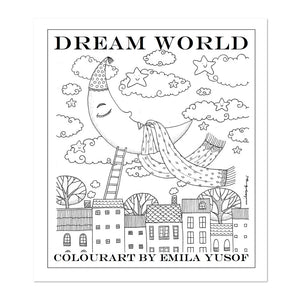 (E. Yusof) Colourart Book - Dream World