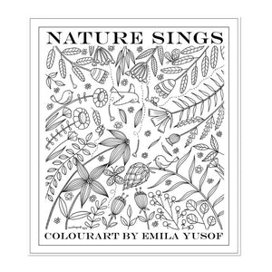 (E. Yusof) Colourart Book - Nature Sings