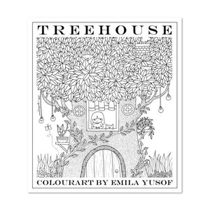 (E. Yusof) Colourart Book - Treehouse