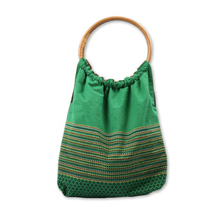 Hla Day Rattan Handled Day Bag