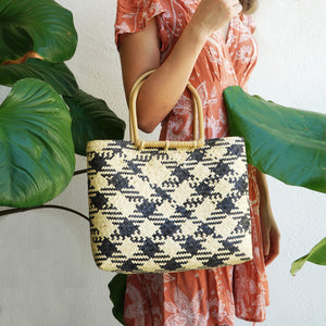 Helping Hands Penan Rattan Handbag (L)