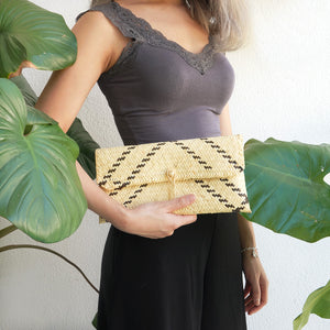 Helping Hands Penan Rattan Clutch
