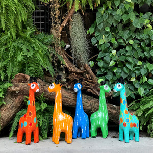 Hla Day Papier Mache Animal (M) - Giraffe