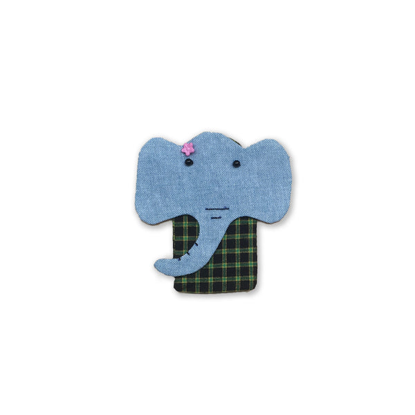 Hla Day Finger Puppet - Elephant