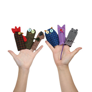 Hla Day Finger Puppet - Crow