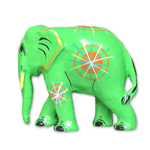 Hla Day Papier Mache Animal (M) - Elephant