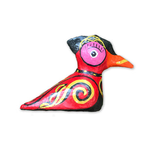 Hla Day Papier Mache Animal (M) - Woodpecker