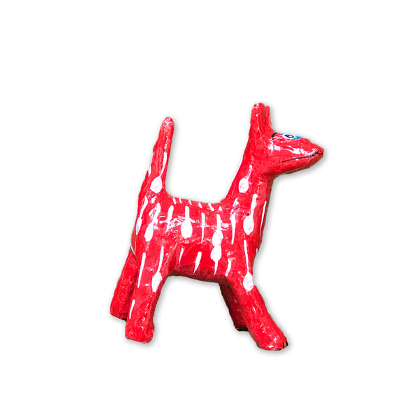 Hla Day Papier Mache Animal (Mini) - Dog