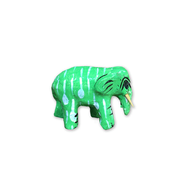 Hla Day Papier Mache Animal (Mini) - Elephant