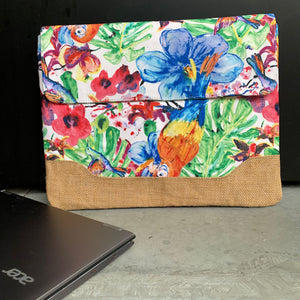 "Nazanin Laptop Bag 13"" - Birds"