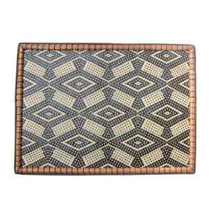 malaysian craft murut placemat