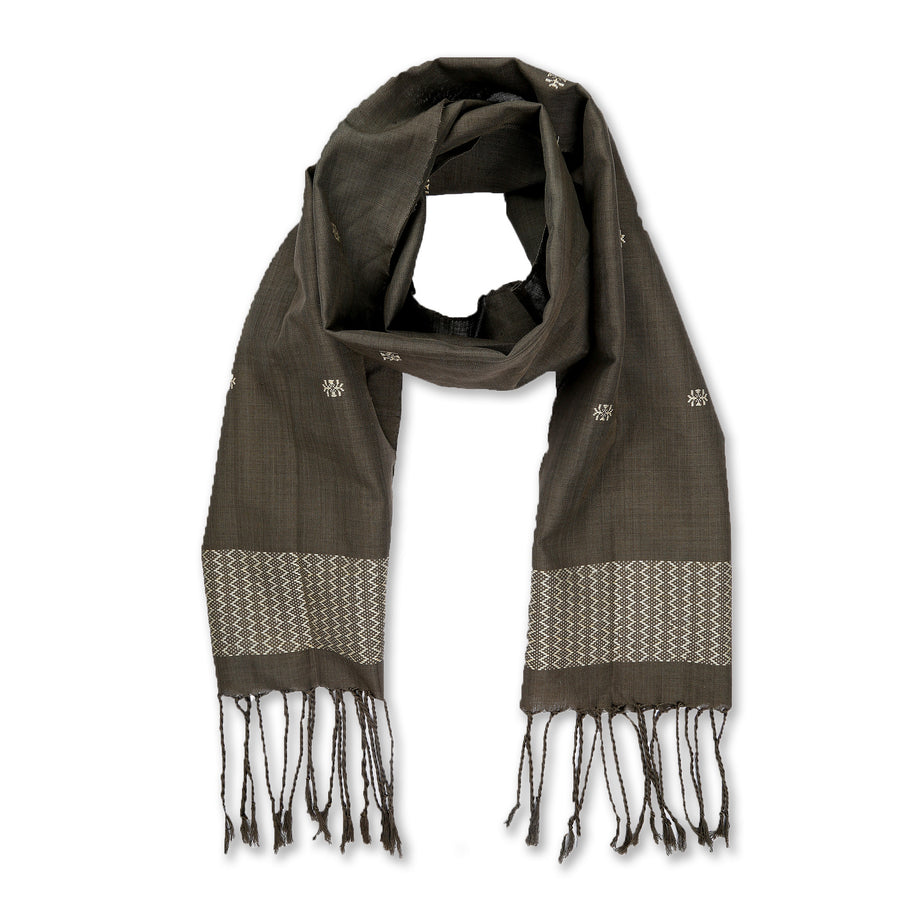 Limpapeh Scarf - Charcoal Grey