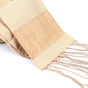 Limpapeh Scarf - Light Beige