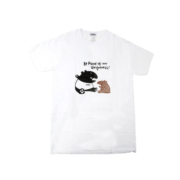 MUOC Adult's T-shirt - White