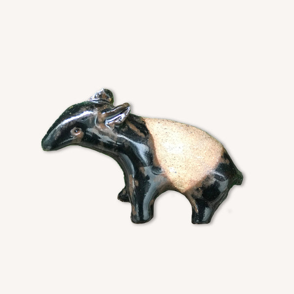 MUOC Hand Sculpted Ceramic Tapir