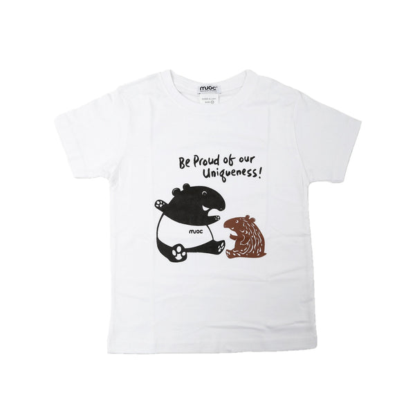 MUOC Kid's T-shirt - White