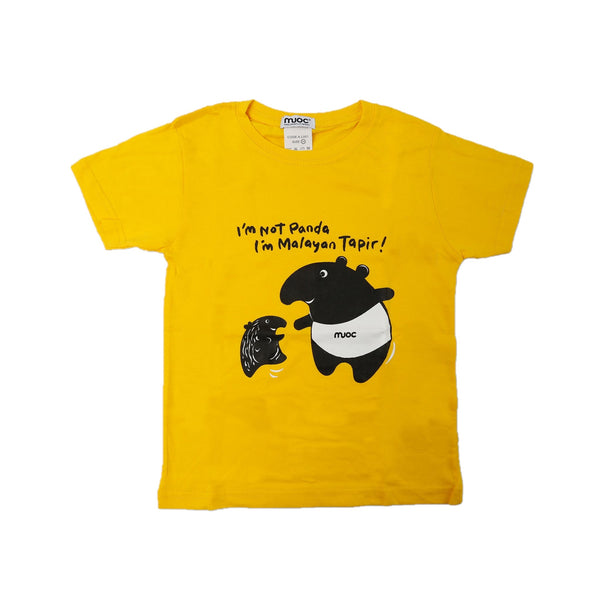 MUOC Kid's T-shirt - Yellow