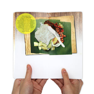 MUOC Food Pop-up Card - Nasi Lemak