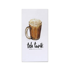 MUOC Food Pop-up Card - Teh Tarik