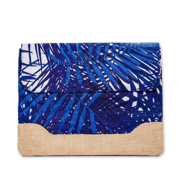 "Nazanin Laptop Bag 13"" - Blue Tropical"