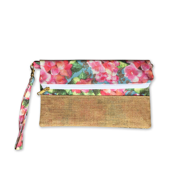 Nazanin Clutch - Flower