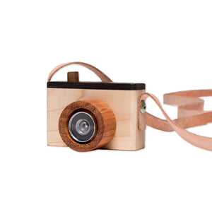 One4One Wooden Toy Camera - S